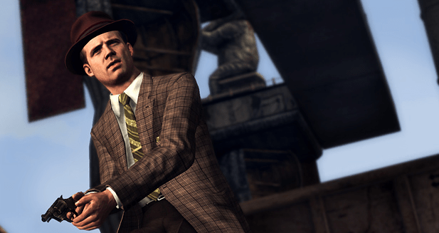 Stephen Bekowsky from video game LA NOIRE