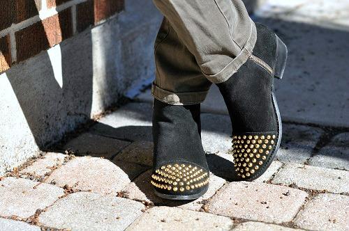 Steve madded stud toe boots