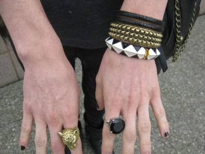 Steven's jewelry - bracelets and rings