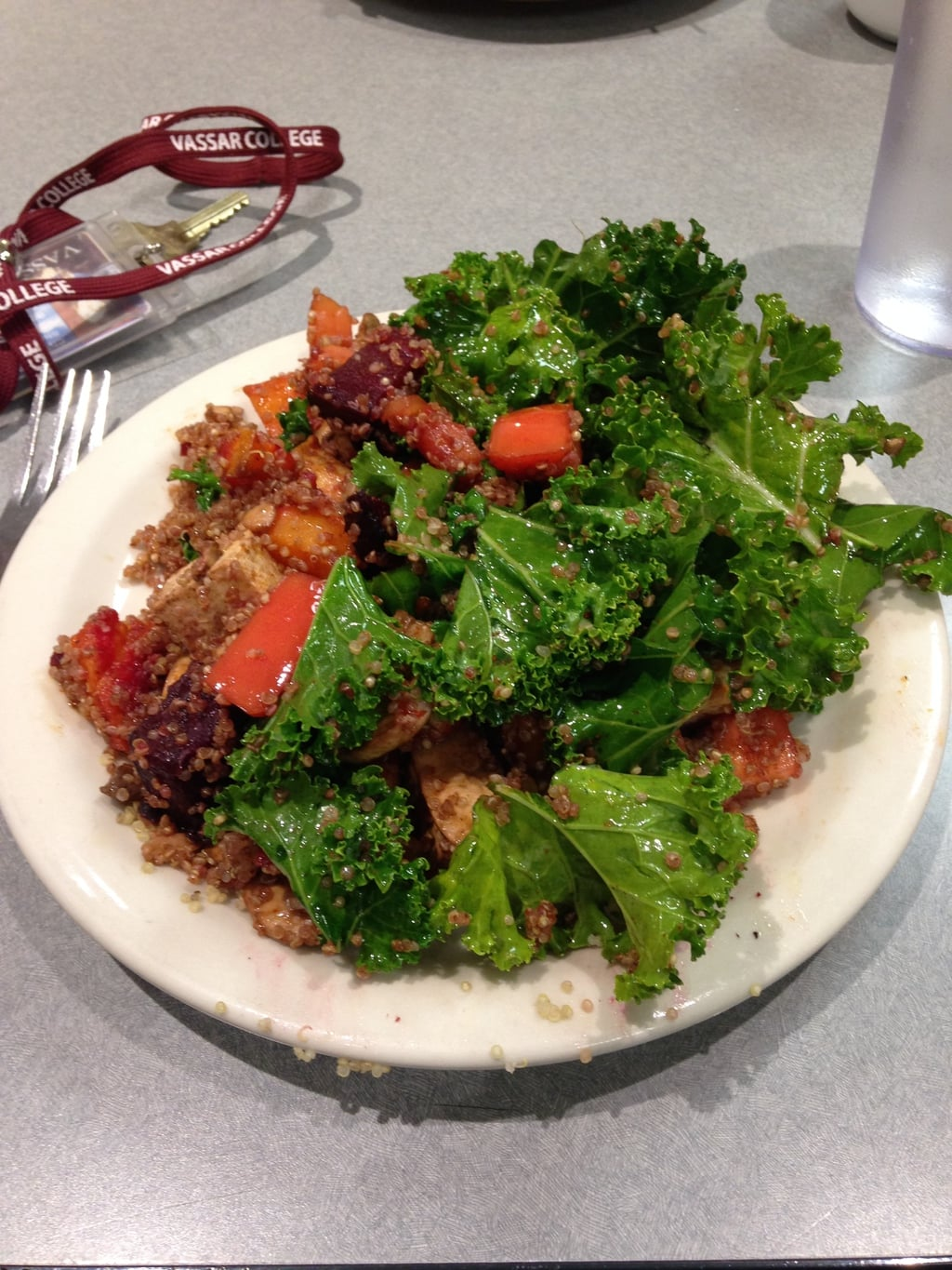 college dining hall stir fry