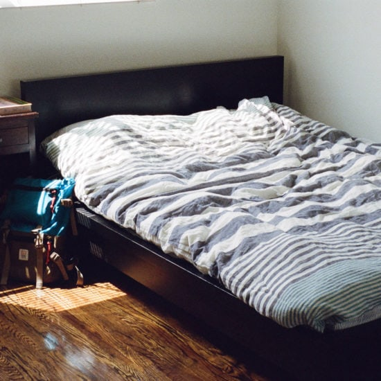 Overcoming burnout: Strategies for fighting burnout include rest. Photo of a bed