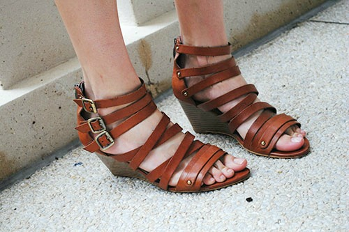 Strappy sandals at uf
