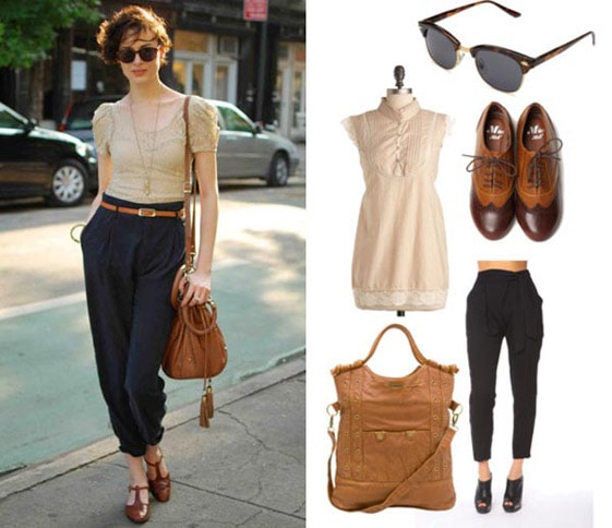 College Fashion Street Style Outfit 3