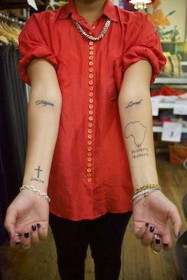 Street style tattoos