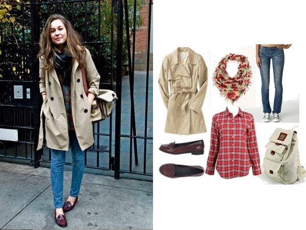 Hipster chic street style