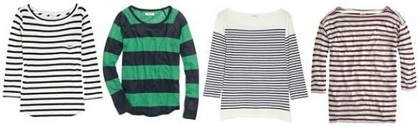 Striped shirt wardrobe staple