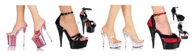 Super-High Stripper Heels