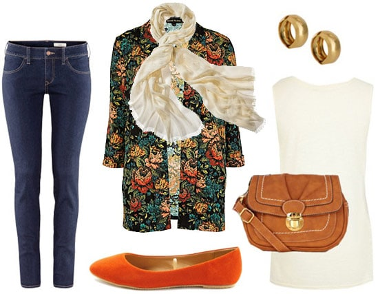Stroll downtown outfit