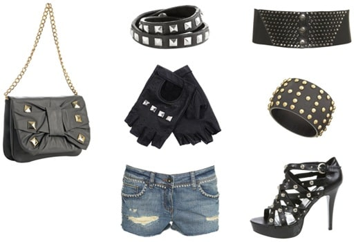 Studded accessories for summer 2009