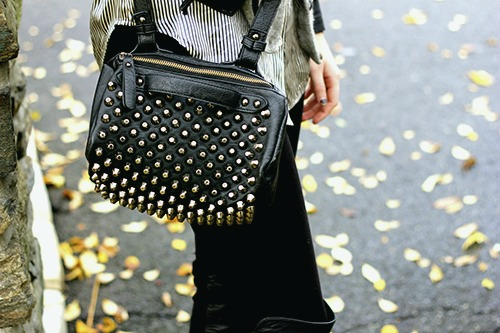 Studded purse at sarah lawrence college