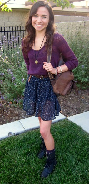 Student fashion at cal poly san luis obispo
