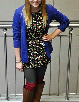 Student fashion at Indiana State University