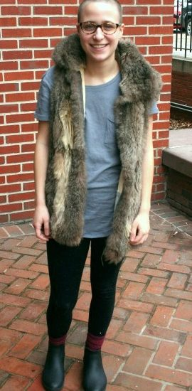 Student fashion at pratt institute