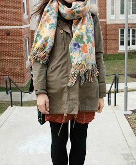 Student fashion at the university of maryland college park