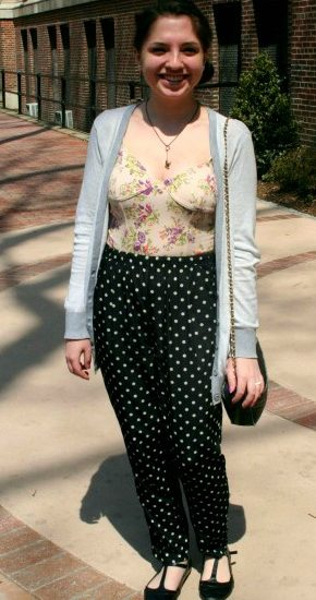 Student street fashion at pratt institute