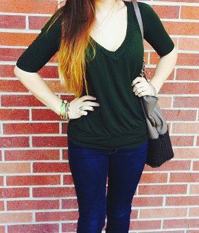 Student street fashion at Sonoma State University