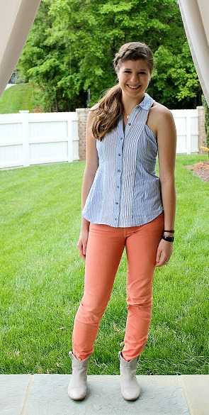 Student street style at meredith college