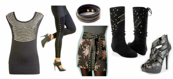 Studded clothing and accessories inspired by Balmain