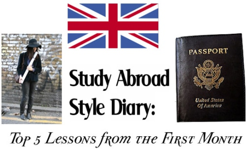 Study abroad lessons