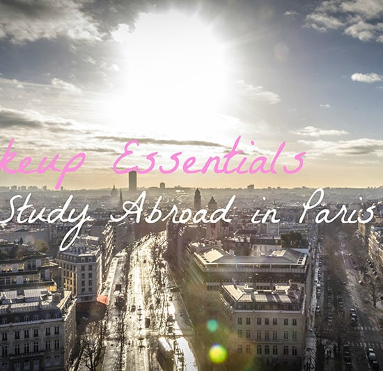 Makeup essentials for study abroad in Paris
