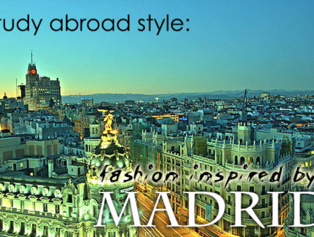 Study abroad style madrid