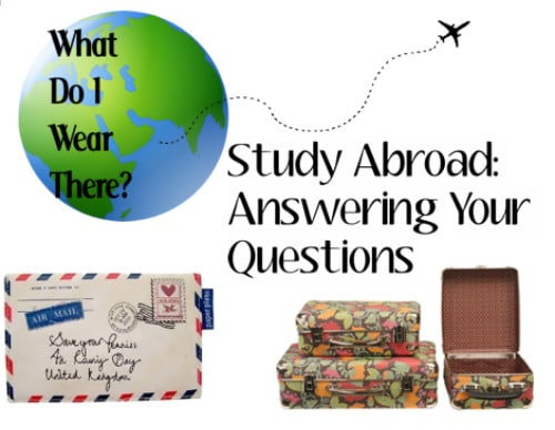 What to wear on study abroad