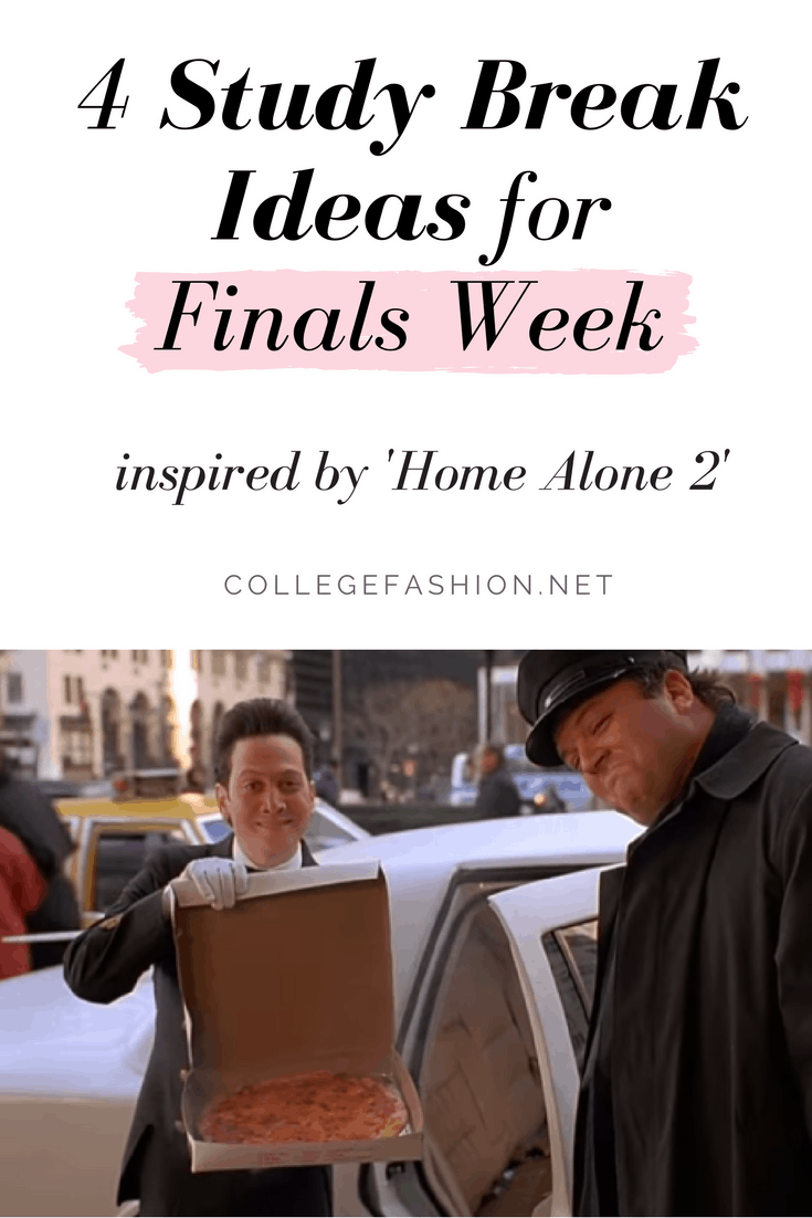 4 study break ideas for finals week inspired by the movie Home Alone 2