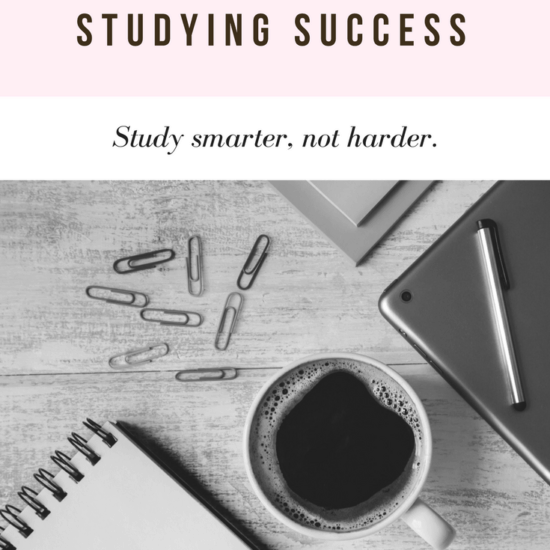 Studying success tips