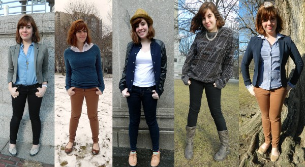 Style Challenge: Borrowing from the Boys