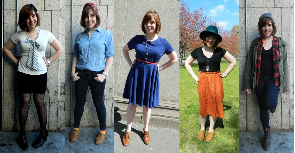 Style Challenge- Dressing by the Decades