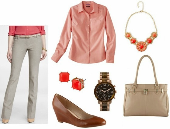 Style remix khakis business outfit
