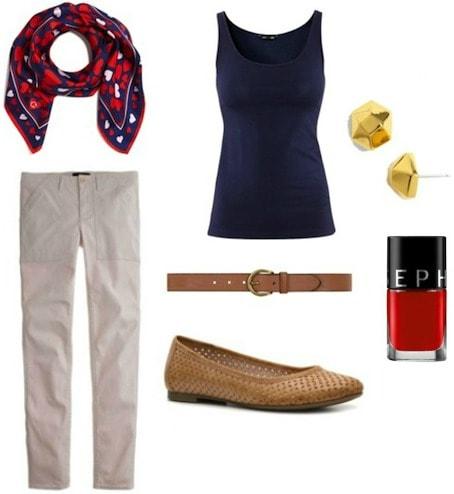 Style remix khakis retro outfit