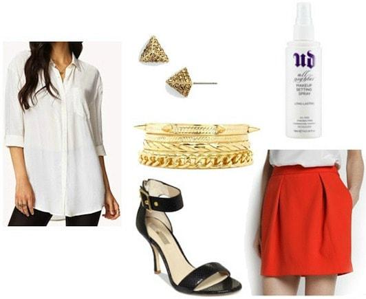 Style remix pocket blouse evening