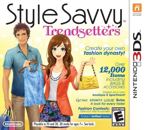 Style Savvy: Trendsetters video game cover