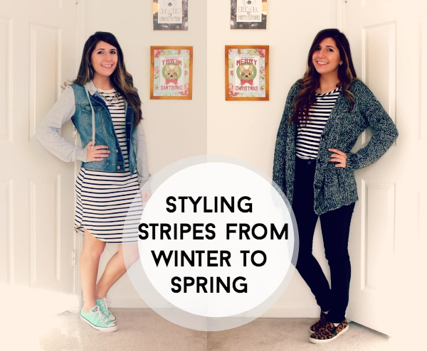 Winter to Spring Stripes
