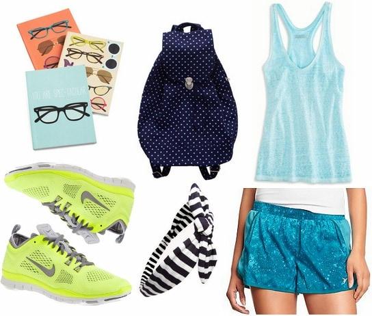 Stylish athletic wear