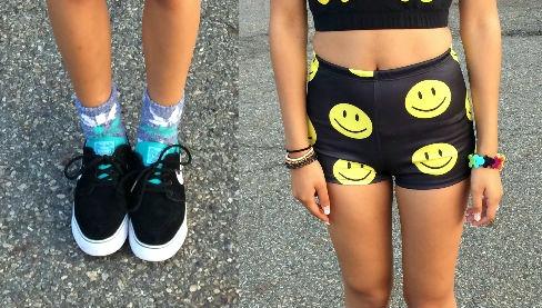 Stylish FIT student fashion