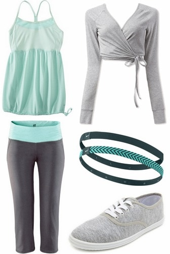 What to wear to the gym - outfit 1