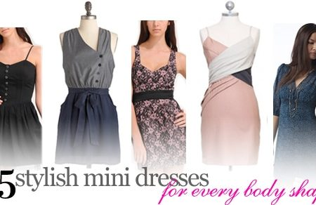 25 stylish mini dresses for every body shape