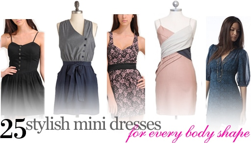25 stylish mini dresses for every body shape