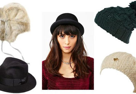 Stylish winter hats