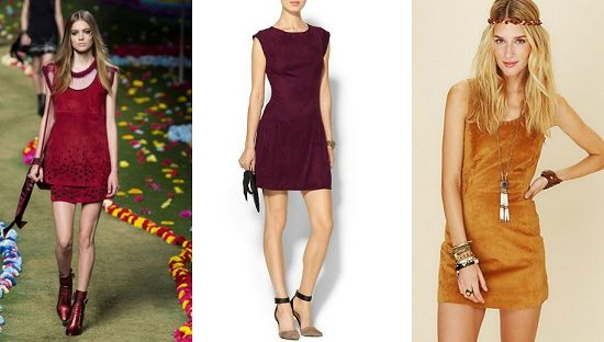 Suede-Mini-Dress-Trend
