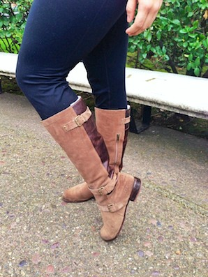 Suede ugg boots at university of the pacific