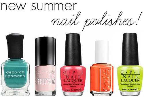 Summer 2014 nail polishes
