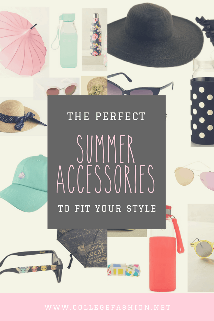 The perfect summer accessories to fit your style