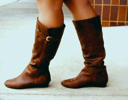 Summer boots at whitewater university