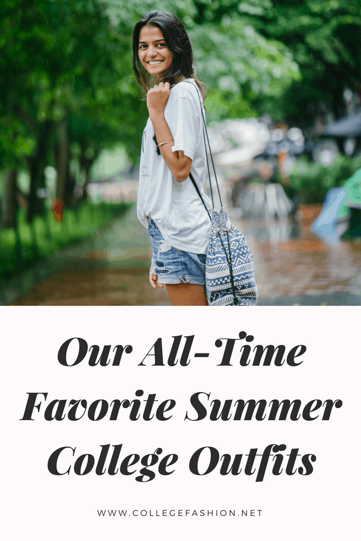 Summer college outfits: Our go to outfits ideas for summer school