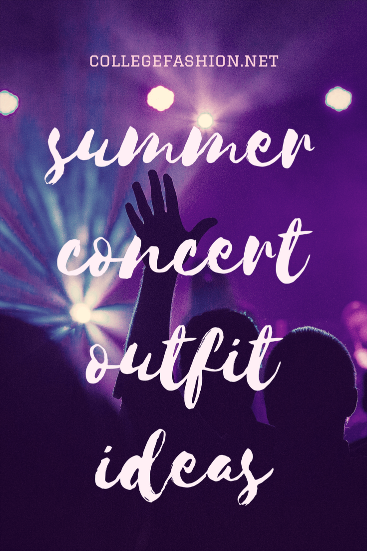 Summer concert outfit ideas: What to wear to a summer concert for hip hop, pop, or indie genres