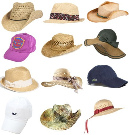 Summer 2011 accessories trend: Hats, hats, hats