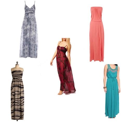 Summer maxi dresses under
